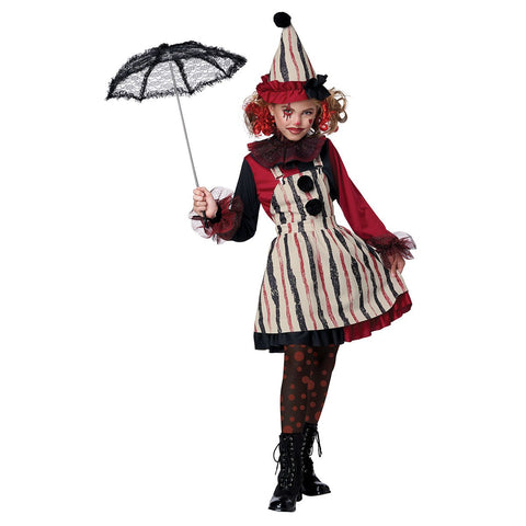 Clever Clown Costume for Girls