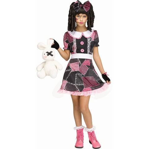 Deadly Doll Costume for Girls