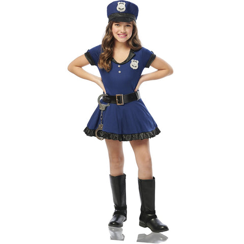 Police Costume for Girls