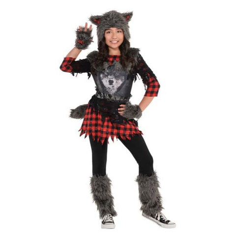 She-Wolf Costume for Girls
