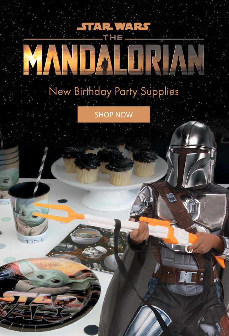 The mandalorian Star Wars kids birthday collection 2020