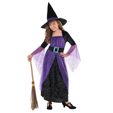 Pretty Potion Witch Costume for Girls