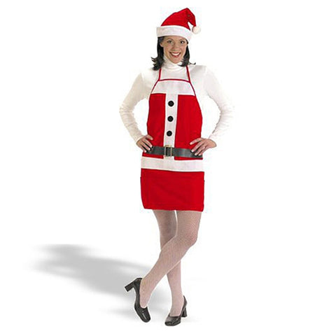 Adult Holiday Apron & Hat