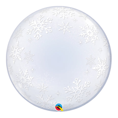 Bubble - Frosty Snowflakes