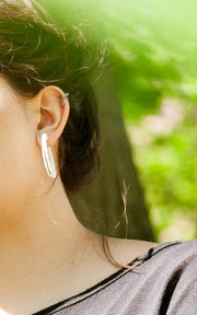 VOX & OZ , SCOOP, Small, Lightweight 3D Hoops earrings
