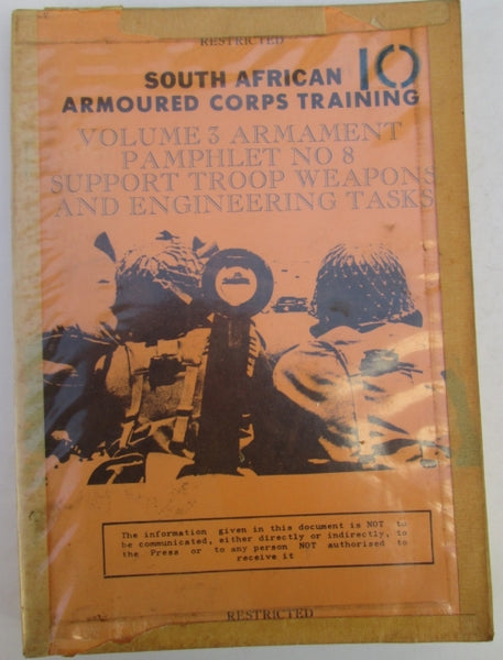 South African Armoured Corps Training Volume 3 Armament (Restricted).