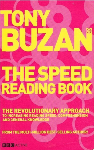 The speed reading book Tony Buzan