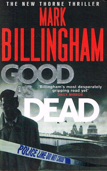 Good as dead Mark Billingham