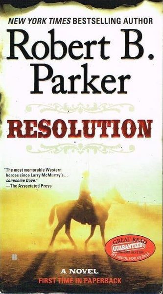 Resolution Robert B Parker