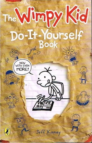 The Wimpy kid do-it-yourself book Jeff Kinney