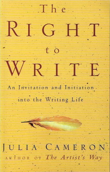 The right to write Julia Cameron
