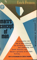 Marx's concept of man Erich Fromm