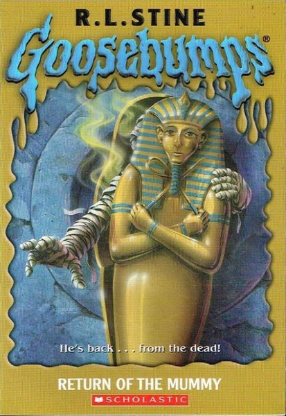 Goosebumps return of the mummy R L Stine