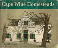 Cape wine homesteads Ted Hoefsloot Cor Pama