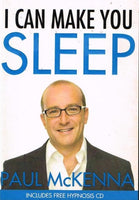 I can make you sleep Paul McKenna (+hypnosis CD)