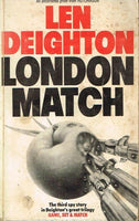 London match Len Deighton (uncorrected proof-signed)