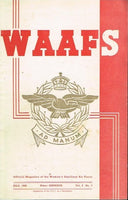 WAAFS official magazine of the women's auxiliary air force (SCARCE) vol2 no4 july 1942