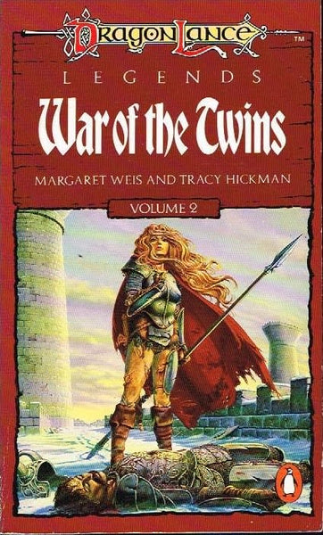 War of the twins Margaret Weis and Tracy Hickman