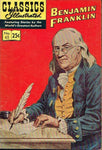 Classics illustrated Benjamin Franklin