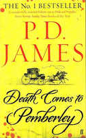 Death comes to Pemberley P D James