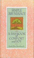 Simple abundance a daybook of comfort and joy Sarah Ban Breathnach