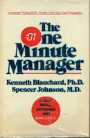 The one minute manager Kenneth Blanchard Spencer Johnson