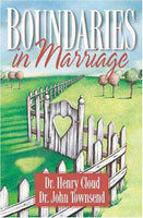 Boundaries in Marriage Henry Cloud, John Townsend