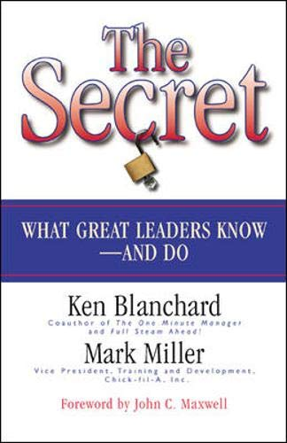 The secret Ken Blanchard Mark Miller