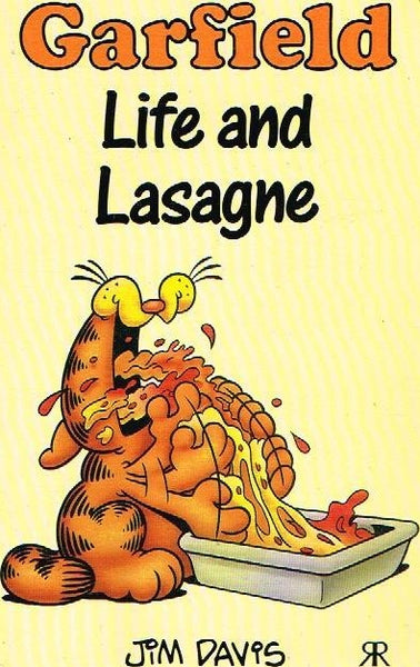 Garfield life and lasagne Jim Davis