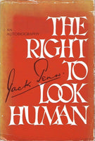 The right to look human Jack Penn (1st edition signed)