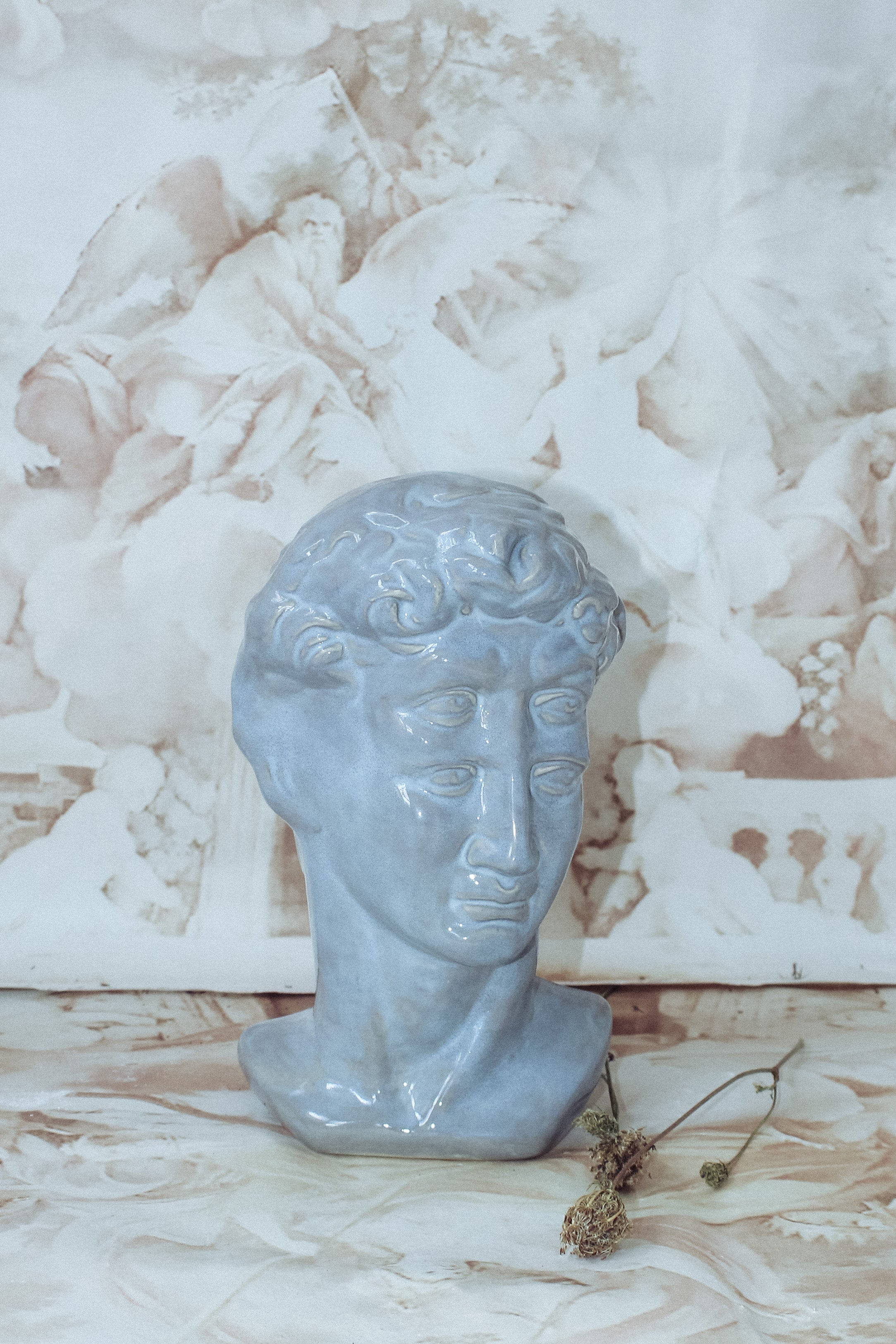 DAVID DEUX FOIS BUST - DUSTY BLUE