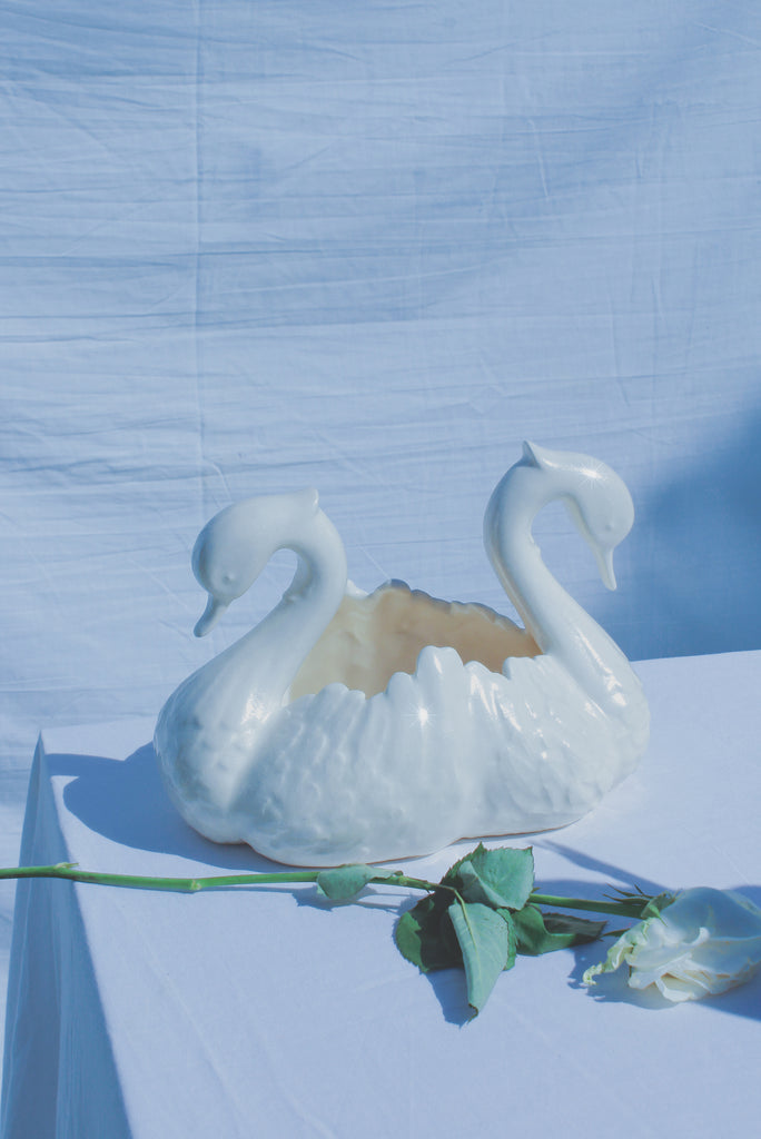 Swan Swan Bowl - Mother Of Pearl