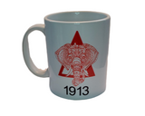 Delta Sigma Theta 12 oz. Mug with Design