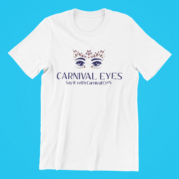 Short Sleeve T-Shirt Carnival Eyes