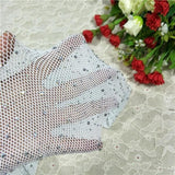 Shiny Crystal Rhinestone Sexy Net Fishnet Body Stockings - CARNIVALEYES.COM
