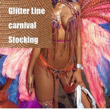 Plus Size Carnival Sexy Stockings - CARNIVALEYES.COM