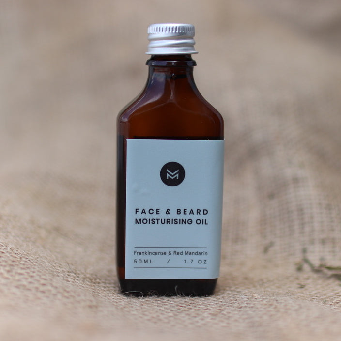 Face and Beard Moisturising Oil
