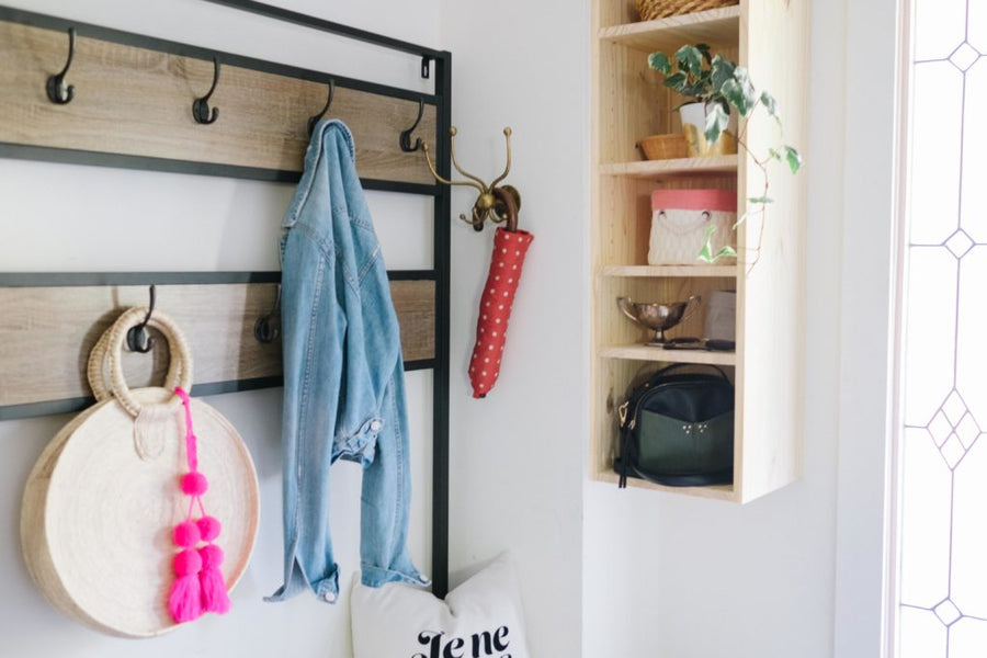 DIY Front Entry Organization