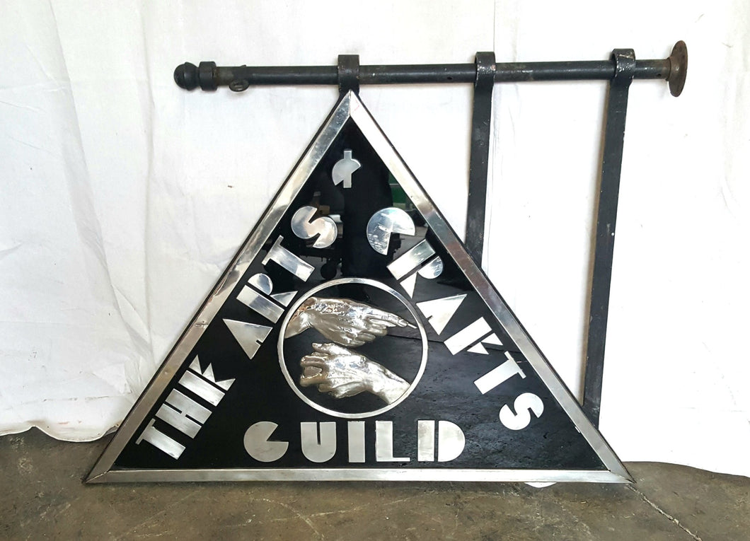 Arts and Crafts Guild Sign, Boston Arts