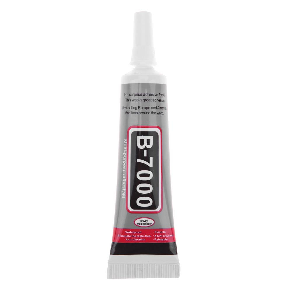 B-7000 Multi Purpose Glue Adhesive Epoxy Resin DIY Crafts Glass Glue/50ml