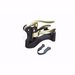 BarCraft Deluxe Lever-Arm Corkscrew Set