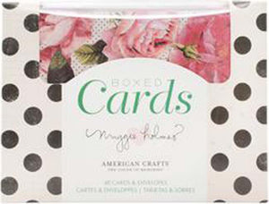 "American Crafts A2 Cards W/Envelopes (4.375""X5.75"") 40/Box-Maggie Holmes Open Book"