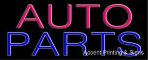 Auto Parts Handcrafted Real GlassTube Neon Sign