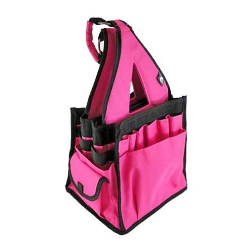 Bluefig Crafter Tote in Pink with 20 Pockets