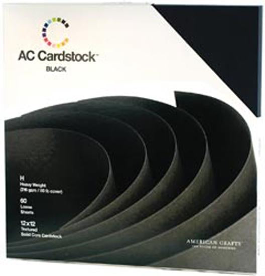 American Crafts Cardstock Pack 12