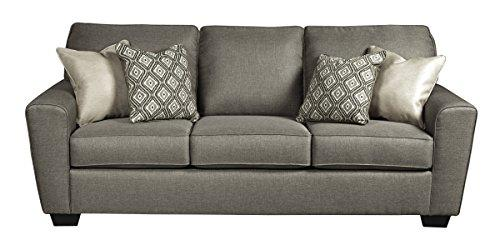 Benchcraft - Calicho Contemporary Sofa Sleeper - Queen Size Mattress Included - Cashmere