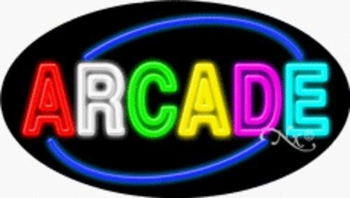 Arcade Handcrafted Energy Efficient Real Glasstube Flashing Neon Sign