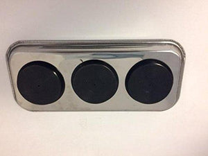 Exclusive 14x6 stainless steel magnetic parts tray auto garage home craft