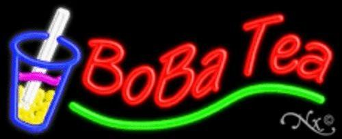 Boba Tea Handcrafted Energy Efficient Glasstube Neon Signs