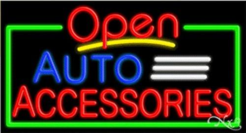 Auto Accessories Open Handcrafted Energy Efficient Glasstube Neon Signs